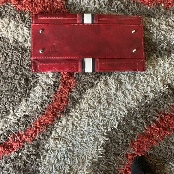 Miche Handbags - Miche Red Leather Wallet